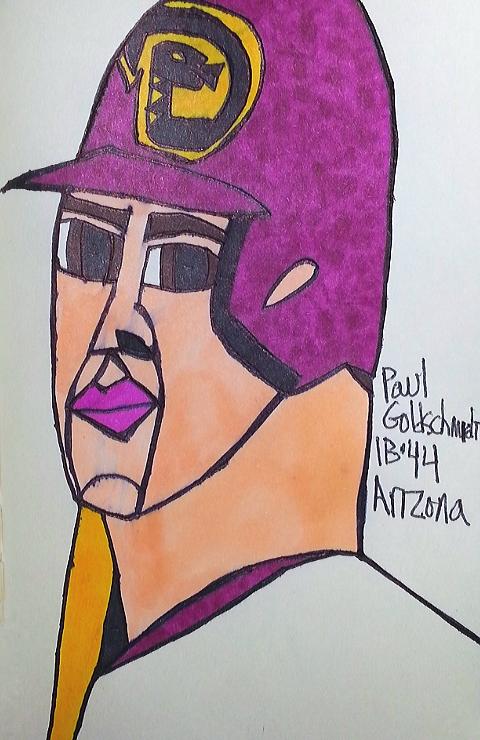 Paul Goldschmidt par armattock